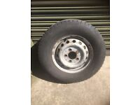 Spare wheel for VW LT35 or Mercedes Spinter van replacement
