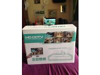 HD CCTV professional security system with 2 cameras brand new boxed