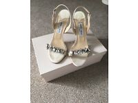 Jimmy Choo Lotus Bridal Shoes