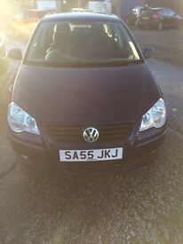 Cheap car low mileage vw polo full year mot