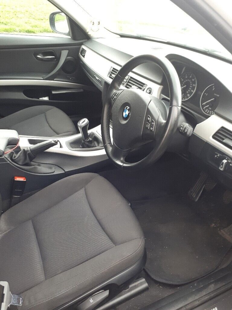 White BMW for sale clean car, and no problems with cheap tax  | in  Bessbrook, County Down | Gumtree