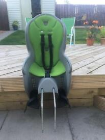 Child's rear cycle seat