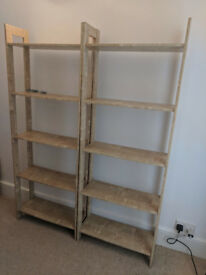 Ikea Storage Shelves Bookcase Shelving Unit Office Bookshelf Student Workshop Laiva x 2 4 5QuickSale
