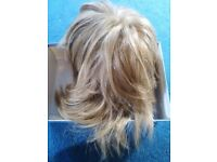 Blonde top quality wig, Raquel Welsh, Medium length plus a bonus blonde wig