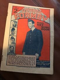 George Formby Big Hit song book