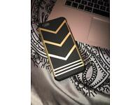 Gold and Black iPhone6/6s case