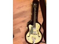 Left-Handed Gretsch Guitar (Anniversary) G6118TLH, And Hard Case.