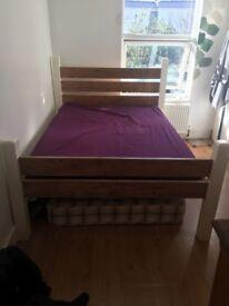 Double Bed frame, handmade