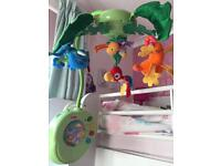 Fisher price Rainforest lights and sounds mobile