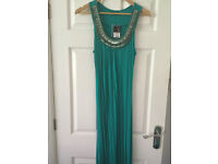 George green sequin maxi dress - Size 8. New with labels - Bought for £16, selling for £5