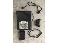 Microsoft Xbox One - 500 GB Black Console (with Assasins Creed Syndicate)