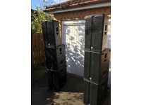 HK Audio Linear 5 'Rock Pack' pa system