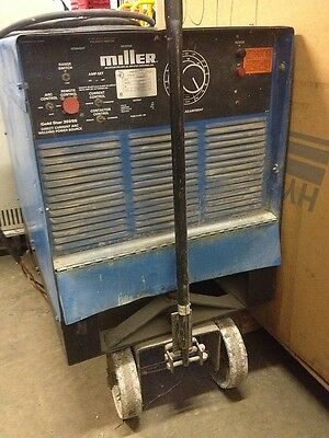 Miller Goldstar 300ss Welder Dc Arc Welding Power Source W Wheel Kit