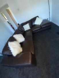 Large Corner Sofa / Couch