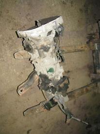 Impreza Turbo 2000 WRX Gearbox & Diff 93-98