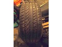 3 JINU 245/40R18 part worn tyres