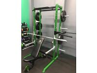 Half rack Commercial Home gym package