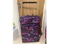 Large It butterfly suitcase in great condition