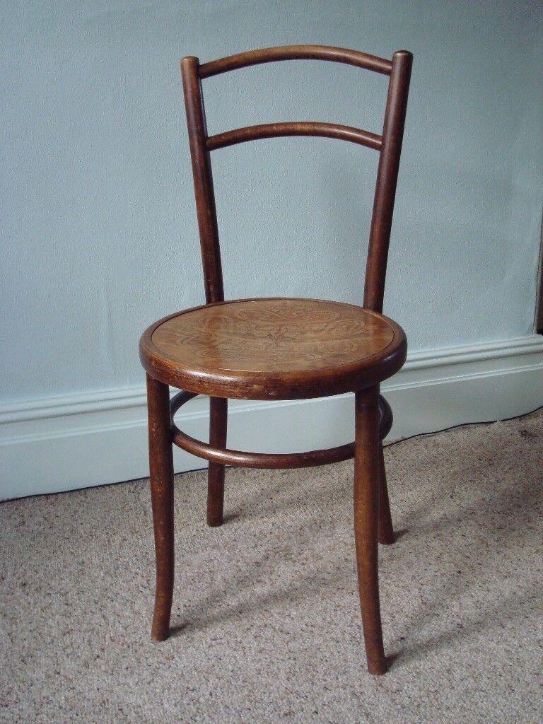 Antique Vintage Fischel Bentwood Chair In Exeter
