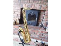 YAMAHA YTS 61 PURPLE LOGO PROFESSIONAL TENOR SAXOPHONE, PURPLE LOGO.