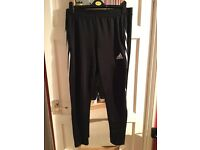 Adidas climacool jogging bottoms / track pants