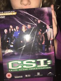 CSI Season 4 DVD
