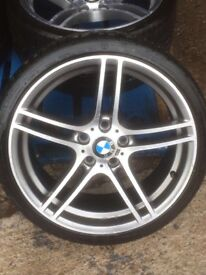 "BMW 313M 19"" Alloy Wheels with Bridgestone Tyres"