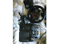 Logitech g29 wheel + pedals and shifter