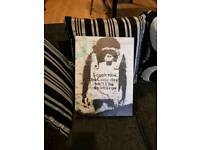 Small monkey canvas