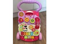 Vtech first steps baby's walker in pink.