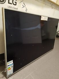 "49"" lg tv ultra hd smart tv for parts"