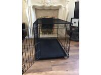 Medium size dog crate/cage 2 weeks old from pets at home