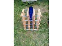 Wood & Metal Wine Racks
