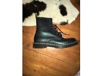 Size 6 Green Dr Martens