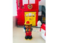 Fisher Price fire station play set