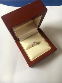 Beautiful Platinum 0.5ct Diamond Engagement Ring