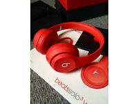 Beats by Dr. Dre Solo3 Wireless Headband Headphones - (PRODUCT) RED