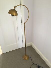 Laura Ashley brass floor lamp