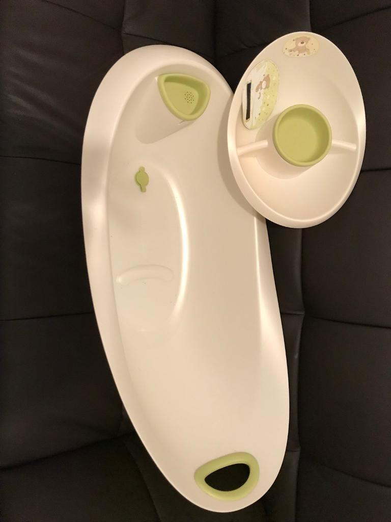 Baby bath and top and tail basin