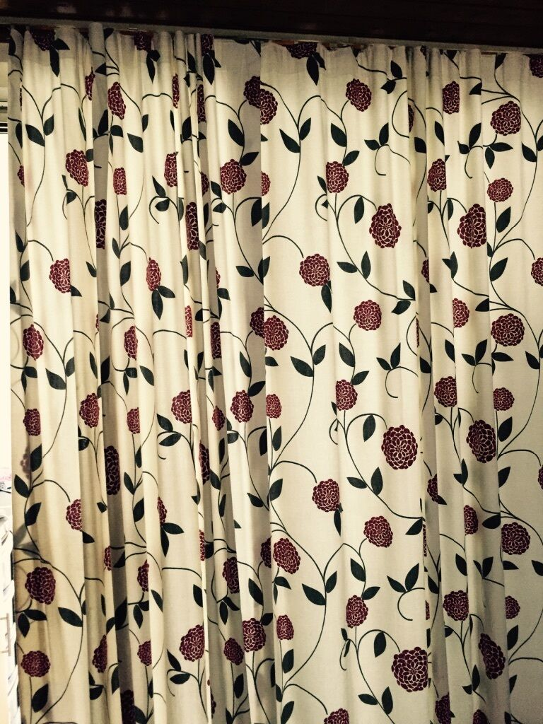 Zina Floral Curtains In Croydon London Gumtree