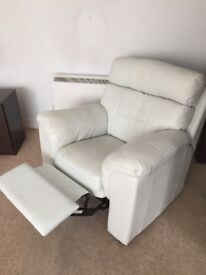 Nice Leather Reclining Sofa and Chair OFFERS