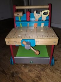 Early Learning wooden push along toy