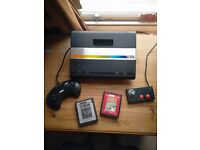 Atari 7800 Console with 2 games