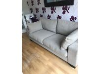 Fabric 3 seater sofa for sale!