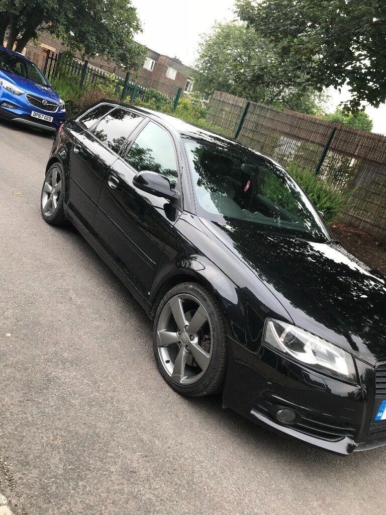 Audi A3 2011 2.0l black edition low mileage