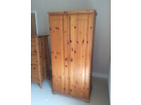 PINE Wardrobe. Used, in EXCELLENT condition. COLLECTION ONLY