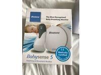 Babysense 5 breathin and movement monitor