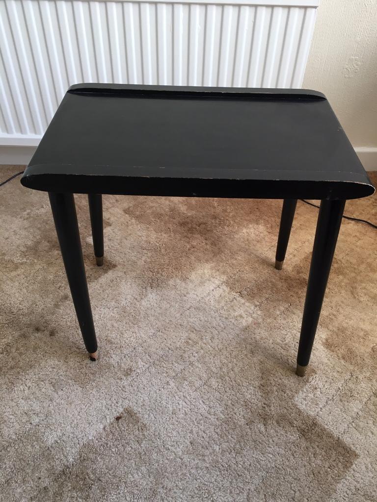 Small Black Table (vintage)