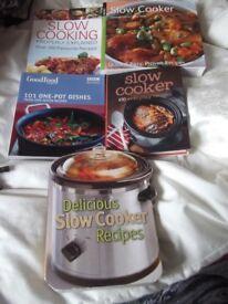 5 x New Slow Cooker Recipe Books