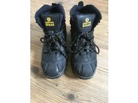 Amblers Steel Safety Boots with Steel Toe Cap and Steel Midsole Protection